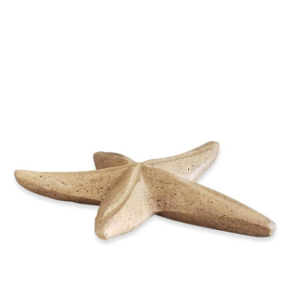 stella-marina-decorativa-travertino-rosso-red-travertine-starfish-art-cosebelleantichemoderne