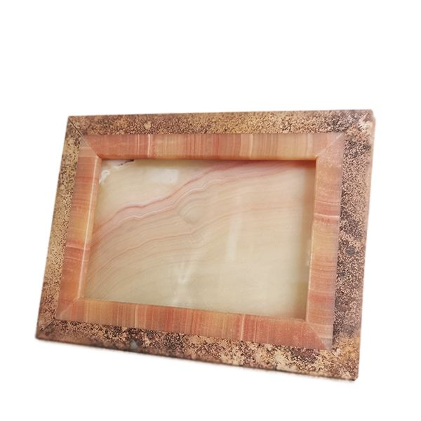 portafoto-cornice-onice-travertino-rosso-idea-regalo-red-marble-travertine-onyx-photo-frame-gift-idea-cosebelleantichemoderne