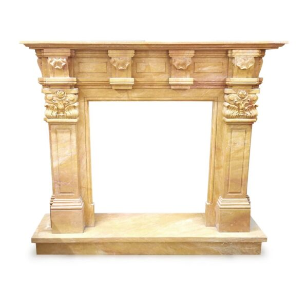 camino-in-marmo-giallo-di-siena-antique-yelloow-marble-fireplace-h130cm-cosebelleantichemoderne